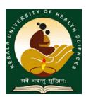 Kerala University of Health Sciences - KUHS, Thrissur